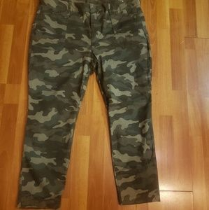 Pixie Camouflage Pants (Never Worn)